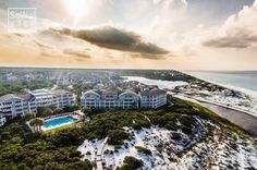 WaterSound Crossings Aerial Over WaterSound Beach | SoWal.com - Insider's Guide for South Walton Beaches & Scenic 30A