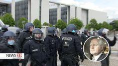 Demo Berlin, Theater, Herschel Heritage Backpack, Backpacks, Bags, Youtube, Cops, Police, Staging