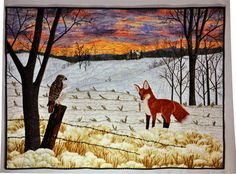 American Quilter's Society - Winter Wonderland (Quilt 5 of 8) Des Moines Area Quilters Guild