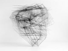 Ernst Hesse | untitled (floats, strings & wire) 2011