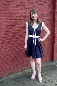 Indie Pattern Company: Deer & Doe / Style: Reglisse dress / Maker: Ginger from Ginger Makes