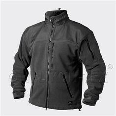 Bunda fleece - CLASSIC ARMY - černá - Helikon Outdoorové Vybavení aa499a99b9d