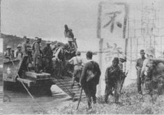 Landing of Japanese soldiers in Chonburi, Thailand 1941