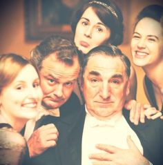 my favorite show ever. Downton Abbey