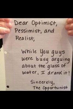 The Opportunist..