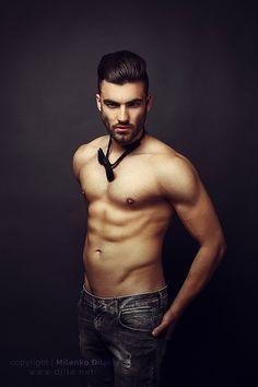 Handsome man posing by Milenko Đilas on 500px
