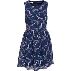 Only Dara Bird Dress ($41) ❤ liked on Polyvore