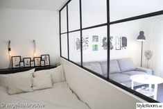 Separation Studio, Home Bedroom, Diy Bedroom Decor, Home Decor, Small Space Living, Small Spaces, Separating Rooms, Eclectic Furniture, Studio Living