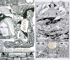 Literary authors who illustrated their own work: Alasdair Gray