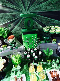 Green Lantern Birthday Party Ideas   Photo 10 of 29