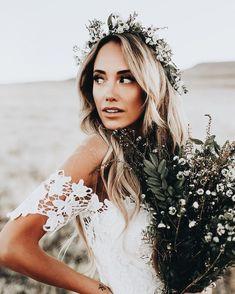 bohemian beauty Wedding,Wedding dress, Wedding bouquet, flowers, Bride, groom, DelPrincipe Photography -