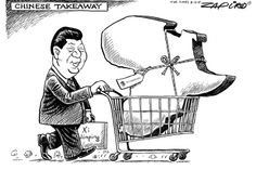 Zapiro: Africa becomes a Chinese takeaway - Mail & Guardian