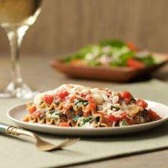 Slow-Cooker Vegetarian Lasagna - EatingWell.com