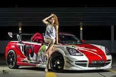 Sapphire Ng, Toyota MR-S night shoot