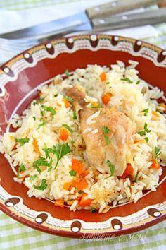 Chicken with rice (Пиле с ориз)