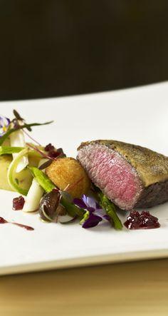 Gratinated Lamb Fillet Saga, Beef, Dishes, Food, Plate, Meal, Essen, Hoods, Ox