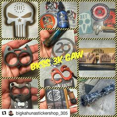 #Repost @bigkahunastickershop_305 with @repostapp  must be following us to win Well here it is the #bkss3kgaw  we don't do this often so when we do we do it big. These fine makers bust there asses for these amazing products so we figured do a 3K for it. Rules are as follows.  1) must follow us and all makers! (We will check) 2) repost this post with all text and hashtag #bkss3kgaw  3) no GAW accounts  4) tag a few friends in your repost! That's is when we hit 3K we will give it away.. Winner…