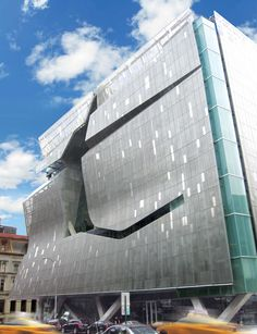 Plasterform worked with Morphosis Architects to make GFRC rainscreen panels for…
