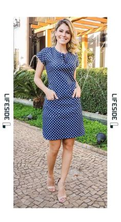 How to rock the casual chic look Trendy Dresses, Nice Dresses, Casual Dresses, Short Dresses, Chiffon Dresses, Fall Dresses, Dress Outfits, Fashion Dresses, Work Outfits
