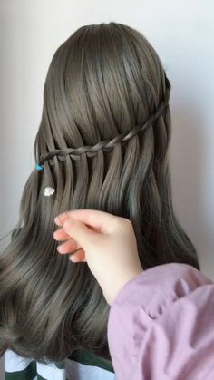 Women Casual Hair Style – – Up Hairstyles Casual Hairstyles, Popular Hairstyles, Girl Hairstyles, Braided Hairstyles, Hairstyle Ideas, Style Hairstyle, Hairstyle Tutorial, Bridal Hairstyle, Braided Ponytail