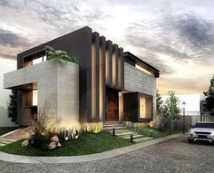 Ideas for modern house design 2019 - EveSteps - architecture this morning . - Ideas for modern house design 2019 – EveSteps – architecture this morning yesterday – - Architecture Renovation, Modern Architecture House, Facade Architecture, Residential Architecture, Modern House Design, Architecture Wallpaper, Victorian Architecture, Landscape Architecture, Modern House Exteriors