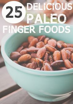 25 Delicious Paleo Finger Foods for a healthy New Year's Celebration #paleo #newyearseve