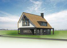 In ontwikkeling 56 - Bekhuis & KleinJan Cabin, Architecture, House Styles, Modern, Home Decor, Ideas, Balconies, House, Arquitetura