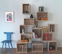 lovely shelving alternative