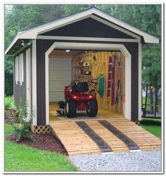 Amazing Shed Plans - Garden Storage Sheds - Now You Can Build ANY Shed In A Weekend Even If You've Zero Woodworking Experience! Start building amazing sheds the easier way with a collection of shed plans! Small Garden Tool Storage, Small Garden Tools, Diy Storage Shed Plans, Backyard Storage Sheds, Wood Shed Plans, Backyard Sheds, Outdoor Sheds, Storage Ideas, Garage Plans