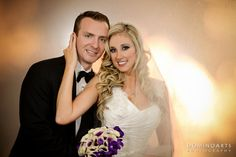 #Wedding #portrait of the #bride and the #groom by #DominoArts #Photography (www.DominoArts.com)