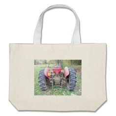 Tractor Canvas Bag!  There's a great selection of styles to choose from.  Starting around $22 this bag is very affordable!