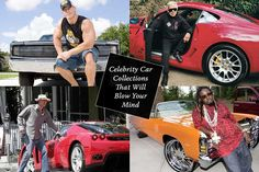 Get a glimpse into the amazing car collection of these 4 famous celebrities and get to know what they love to drive. #UAE