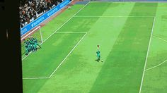 When FIFA15 glitches and you end up with 11 very confused goalkeepers.