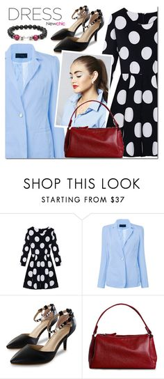 """""""NEWCHIC dress"""" by mada-malureanu ❤ liked on Polyvore featuring GetTheLook, dress and lovenewchic"""
