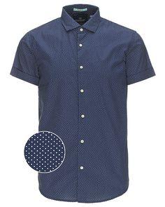 Super lækre Scotch & Soda kortærmet skjorte Scotch & Soda Skjorter til Herrer til hverdag og til fest