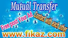 800+ Railway Employees Waiting For Mutual Transfer . Free Post Your Mutual Transfer Ad & Search Your Mutual Partner Quickly In http://www.fikaz.com/bharat/railmutual.php .