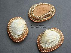 Master class on shell lacing beads   Fair Masters - handmade, handmade