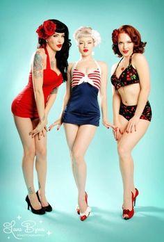 pinup bathingsuits