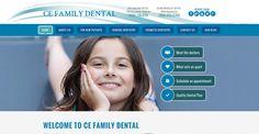 #sesamewebdesign #psds #dental #responsive #blue #green #top-menu #topmenu #full-width #fullwidth #curvy #texture #flat
