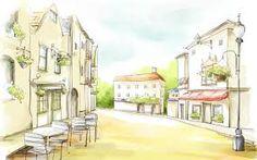 My romantic village...