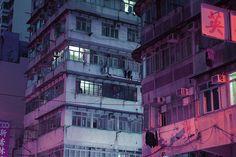 "flowartstation: "" Photos of China's Neon by Marilyn Mugot "" Cyberpunk City, Cyberpunk Aesthetic, Neon Aesthetic, Aesthetic Photo, Urbane Fotografie, The Wicked The Divine, Denis Villeneuve, Neon Nights, French Photographers"