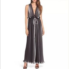 65b147c43ab C MEO Collective Kasey Dream Chaser Wide-Leg Jumpsuit by Anthropologie sz  medium