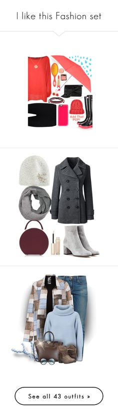"""""""I like this Fashion set"""" by bambi-52 ❤ liked on Polyvore featuring Hunter, Accessorize, Casetify, WearAll, Boohoo, West Coast Jewelry, The Wet Brush, Victoria Beckham, Hourglass Cosmetics and Eugenia Kim"""