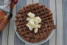 Chocolate Banana Waffles: Easy and Allergy-Friendly!   Healthy Ideas for Kids