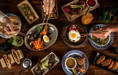 The pop-up that everybody wanted to stay - creative Japanese food inspired by western cuisine. London Food, Japanese Food, A Table, Menu, Ethnic Recipes, Restaurants, Western Style, Soho, Fairy
