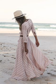 Island Boho Gown - Coral Just love this and the whole line by this Etsy shop