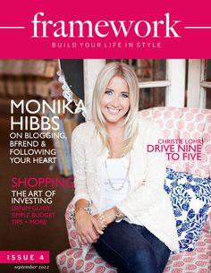 Framework Magazine Issue 4 - September 2012 w/@Monika Hibbs,  @standing armed by Lindsay Walsh, #StyleNineToFive #VioletHill