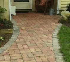 Brick Pavers  Coventry Brickstone Coventry® Brickstone pavers offer the classic look of traditional, age-worn brick.  Available in a full range of colorations, among them Haddon Blend, shown here, the bricks can be configured in a variety of patterns from herringbone and basket weave to running- and