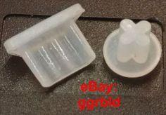 Set antipolvere tappo Micro USB + Jack cuffie auricolari 3.5mm silicone traspar