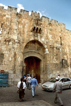 Old Jerusalem . Lions Gate